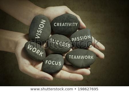 Paixão sucesso negócio texto ilustração Foto stock © tashatuvango