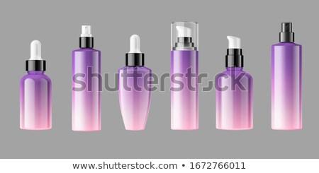 Colorful Spray bottles vector illustrations Stock photo © Akhilesh