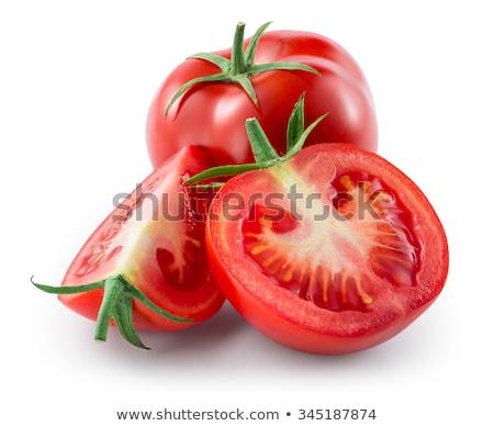 group of red fresh tomatoes stock photo © vapi