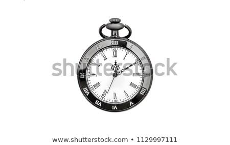 Top view of vintage stopwatch Stock photo © MikhailMishchenko