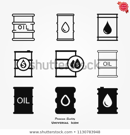 Oil barrel vector, drum container Stock photo © Andrei_