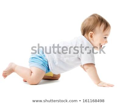 estúdio · retrato · criança · sorrir · feliz - foto stock © monkey_business