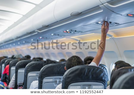 Light and air conditioning in the plane Stock photo © vladacanon