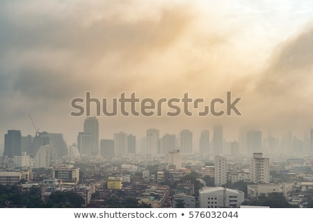 Air pollution in the city Stock photo © CsDeli