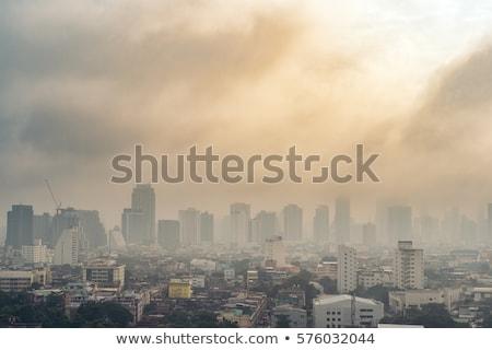 aire · contaminación · ciudad · paisaje · urbano · fumar · industrial - foto stock © CsDeli