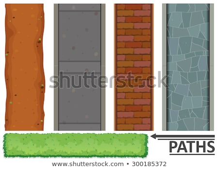 Set of aerial paths Stock photo © bluering