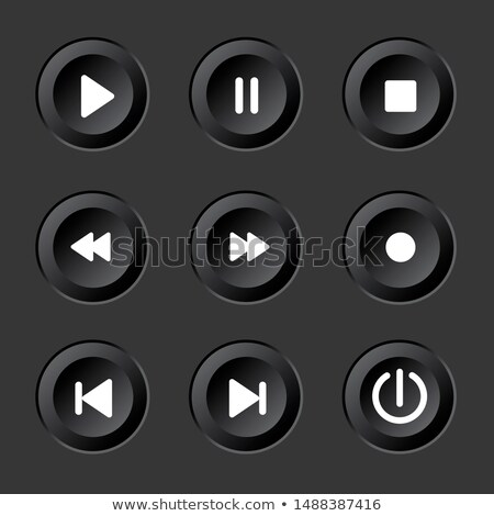 audio · videó · vektor · ikon · gyűjtemény · technológia · háló - stock fotó © essl