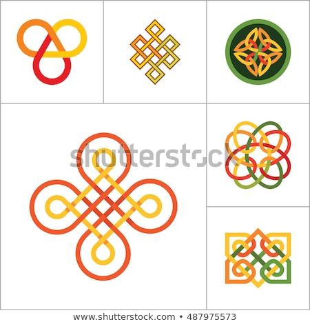 Nudo China ornamento feng shui elemento Foto stock © kostins