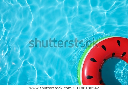 Top view of swimming pool in park Stock photo © colematt