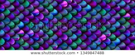 poissons · bleu · eau · mer · peinture - photo stock © marysan