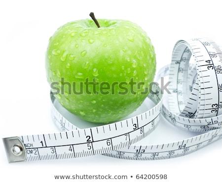 Dietitian Measuring The Apple Stock photo © AndreyPopov
