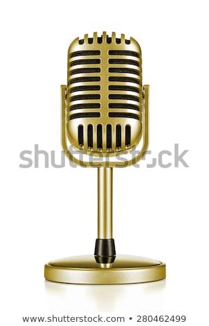 Zene vetélkedő arany díj vektor előadás Stock fotó © robuart