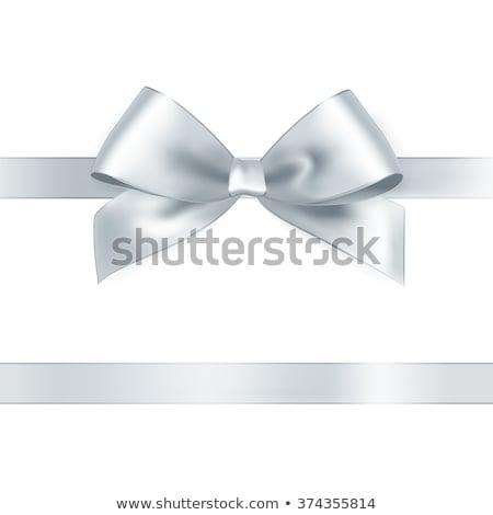 Zilver boeg 3d illustration geïsoleerd witte partij Stockfoto © montego