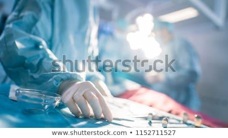 プラスチック · 外科医 · 女性 · シリコン · 乳がん · 手 - ストックフォト © jossdiim
