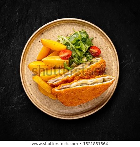patate · carne · alimentare - foto d'archivio © grafvision