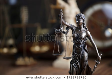 Authority of Law sculpture. Stock photo © iofoto