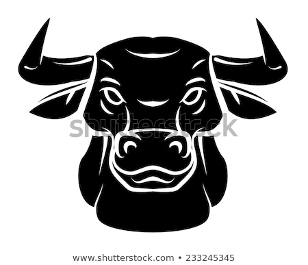 Pig Head Tribal Tattoo Stock photo © patrimonio