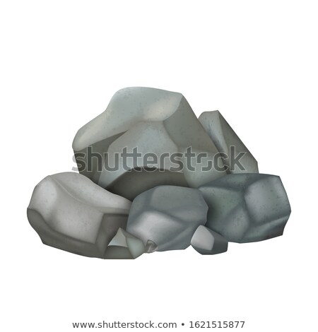 Kő halom sóder macskakő szín vektor Stock fotó © pikepicture