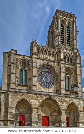 Церкви · Франция · Готский · небе · здании · архитектура - Сток-фото © borisb17