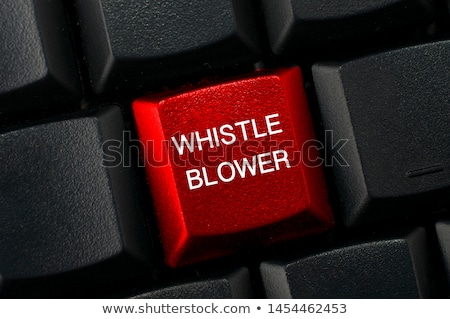 Whistleblower Fraud Stock photo © Lightsource