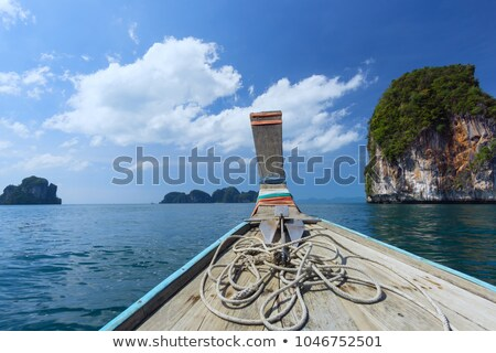 mavi · deniz · dışarı · ada · görmek - stok fotoğraf © vapi