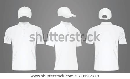 Front Views Of T-shirt And Baseball Cap And Short On White Background Stock photo © adamson