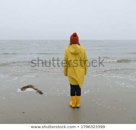 загрузка пляж рыбак лодка Балтийское море Сток-фото © CarmenSteiner