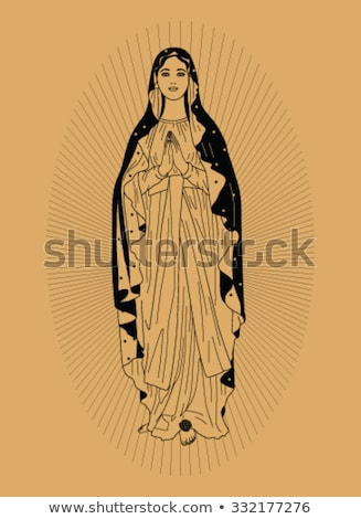 Holy Virgin Mary  in radiance Stock photo © Olena