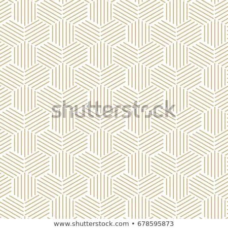 Vektor Zeilen Mosaik Muster modernen Stock foto © samolevsky