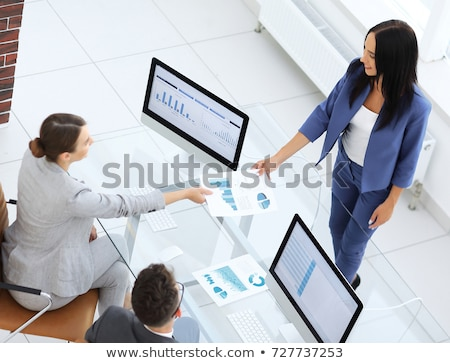 Partner meetings and briefing, Teamwork of business colleagues c Stock photo © Freedomz
