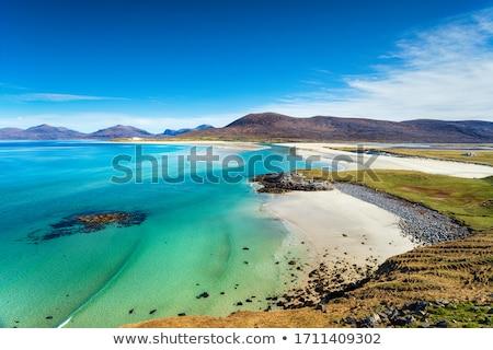 海岸 スコットランド 丘 水 海 ストックフォト © gewoldi