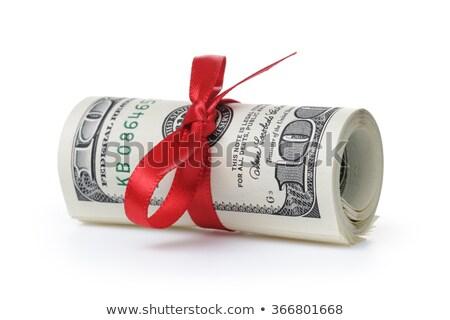 boglya · 100 · dollár · bankjegyek · fotó · üzlet · papír - stock fotó © andreykr