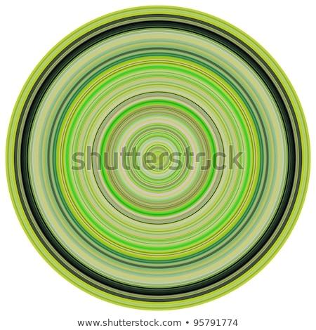 Rendering 3d concentrico tubi multipla verde colori Foto d'archivio © Melvin07