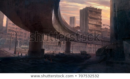 matte painting Stock photo © bmwa_xiller
