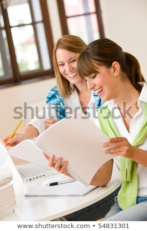 Two students revising Stock photo © photography33