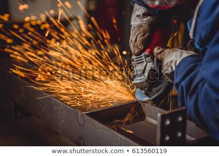 építkezés munka fény technológia ipar gyár Stock fotó © photography33