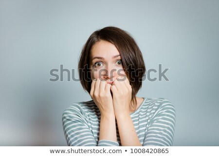 white collar biting his nails Stock photo © photography33