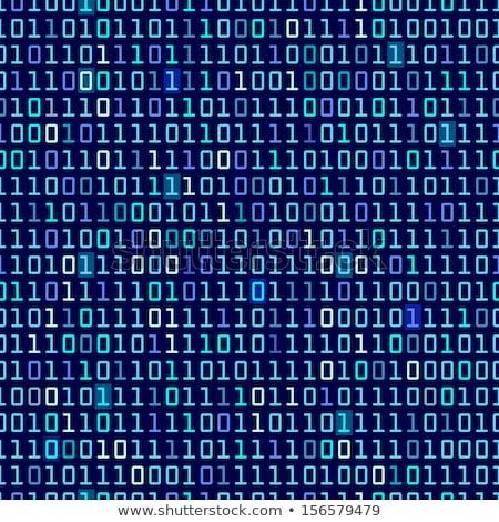 Binary code and words Stock photo © a2bb5s
