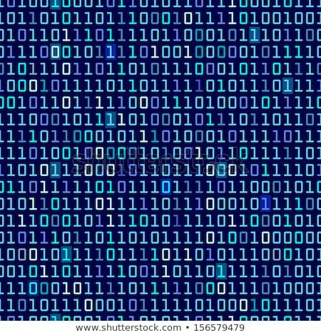 perspectief · binaire · code · gegevens · stroom · internet · communicatie - stockfoto © a2bb5s
