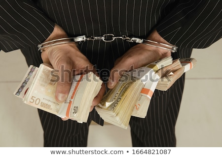 detail of handcuff Stock photo © pterwort