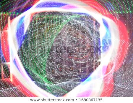 Absztrakt piros kék hajlatok elmosódott terv Stock fotó © wavebreak_media