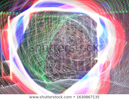Abstract roşu albastru curbe neclara proiect Imagine de stoc © wavebreak_media