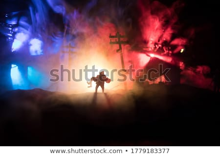 A burned woman. Stock photo © photography33