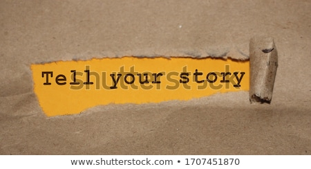 We promote your business! Stock photo © stockyimages