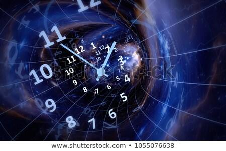idő · örökkévalóság · kezek · óra · labda · sebesség - stock fotó © anterovium