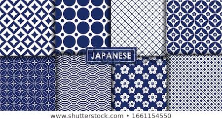 seamless traditional japanese pattern stock photo © creative_stock