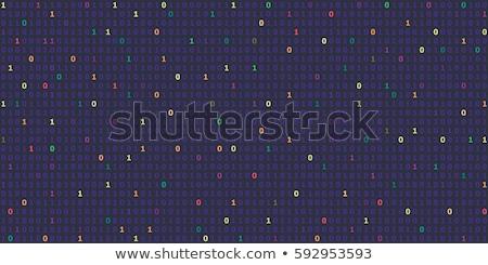 Stock fotó: Háló · forgalom · sötét · digitális · kék · szín