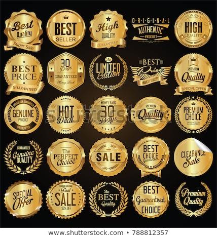 prêmio · ouro · prata · vencedor · medalha - foto stock © burakowski