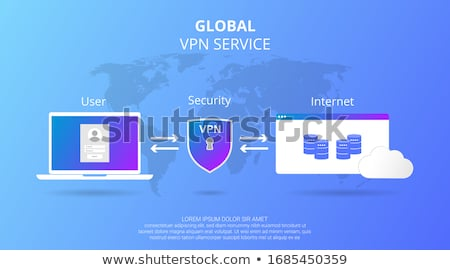 Private Browsing Internet Security Key Web Surfing Privacy Stock photo © iqoncept