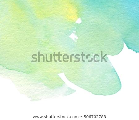 Açık yeşil bahar etiket beyaz Paskalya ışık Stok fotoğraf © impresja26
